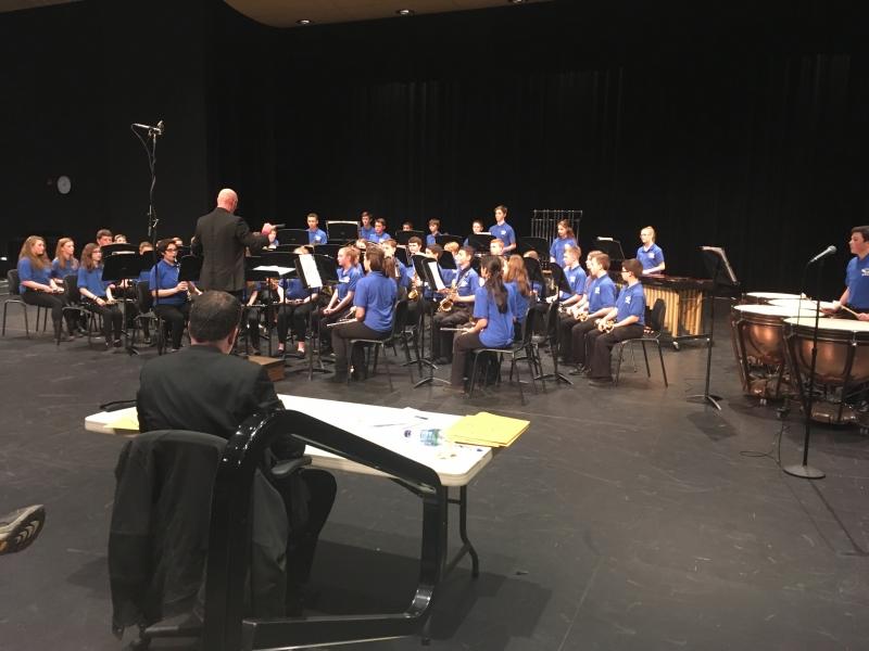 LCRMEA Middle School Band Festival