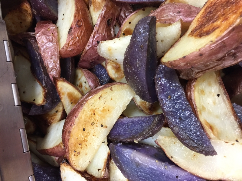 Purple and Red Potatoes