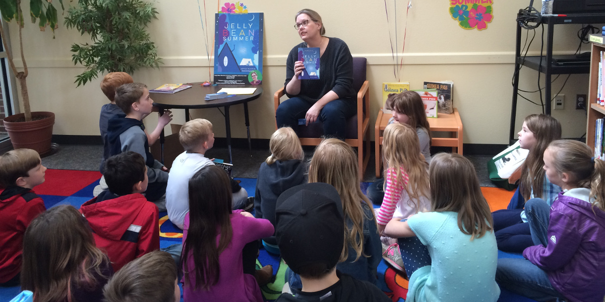 Author Joyce Magnin Visits La Center