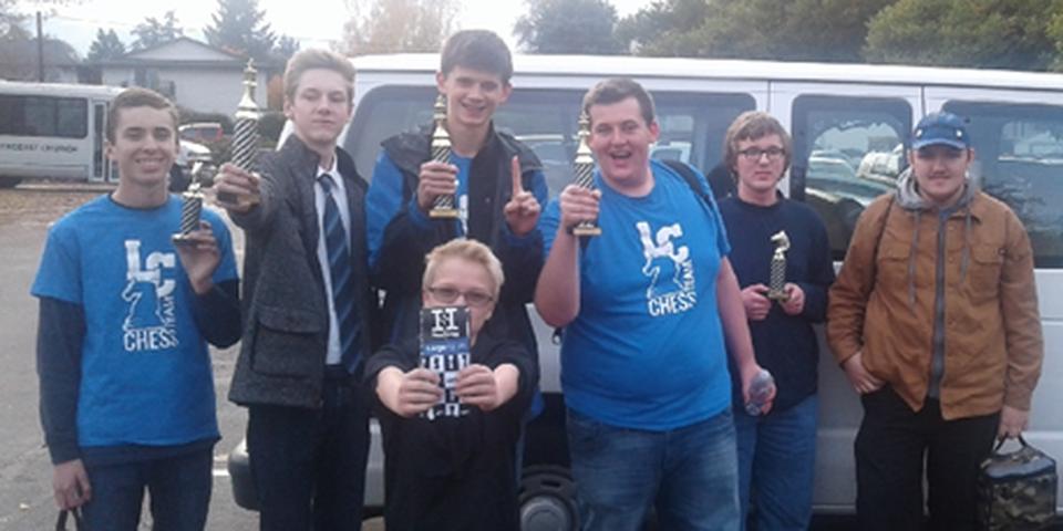 Chess Team after tournament