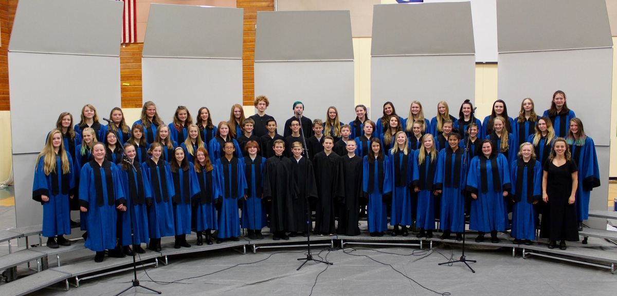 Middle School Choir 2017