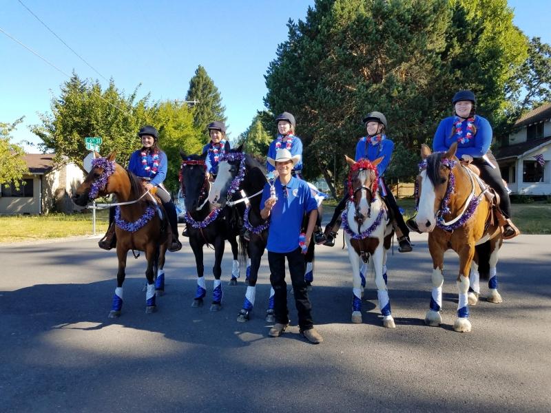 LCHS Equestrian Team 2018