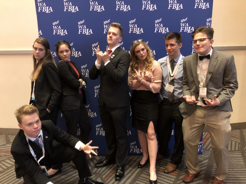 Future Business Leaders of America State competition team