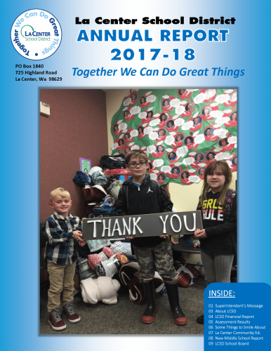 LCSD Annual Report 2017-18