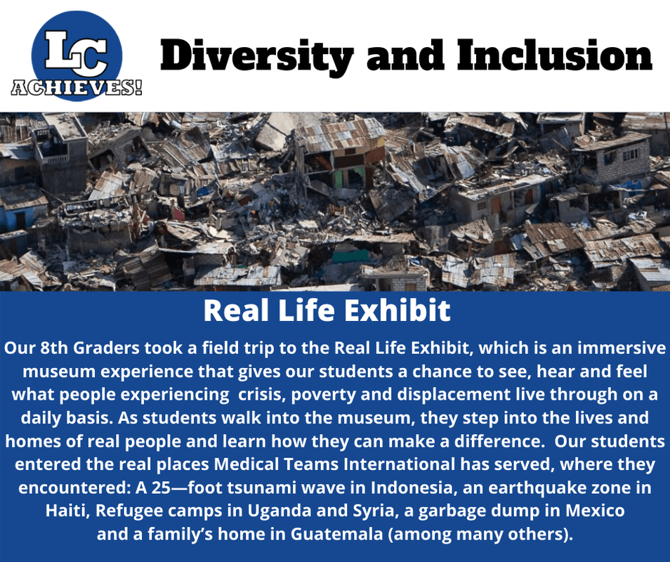 Diversity and Inclusion - Real Life Exhibit