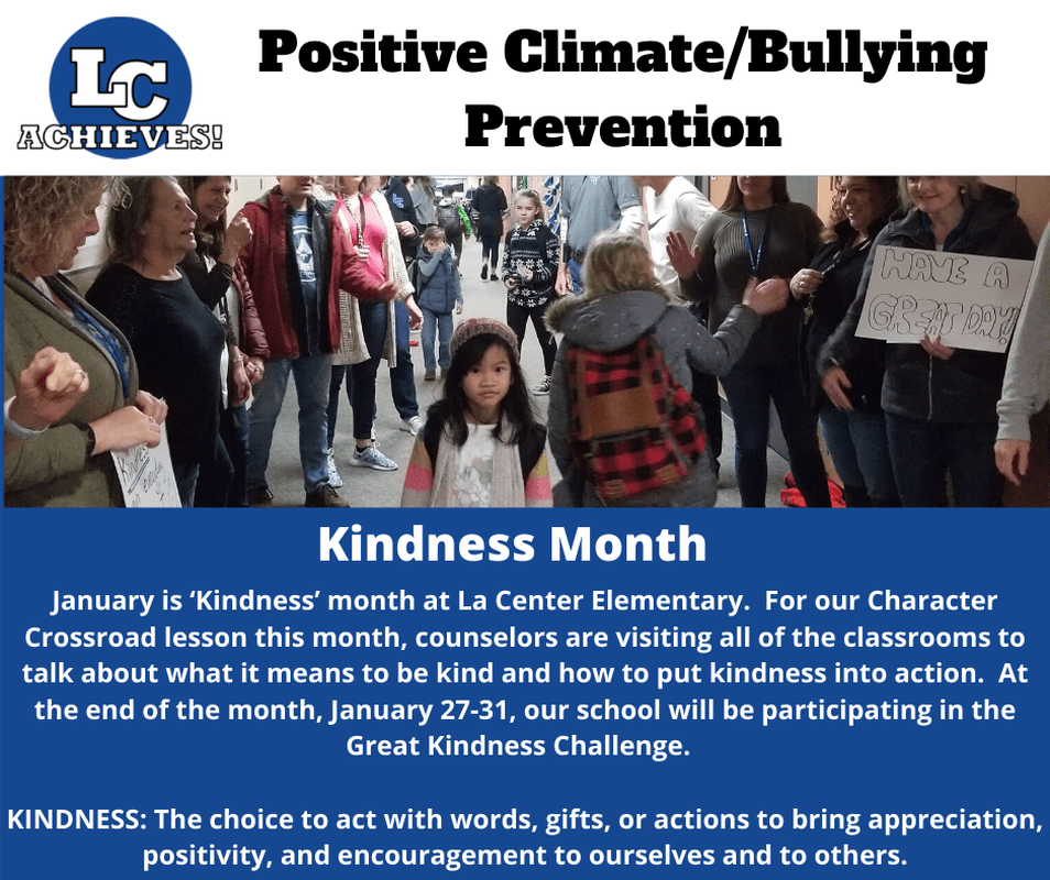 Positive Climate/Bully Prevention - Kindness Month Slide